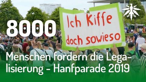 8000 Menschen fordern die Legalisierung – Hanfparade 2019 | DHV-News #214