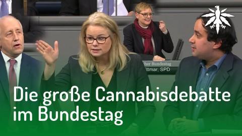Die große Cannabisdebatte im Bundestag | DHV-Audio-News #155