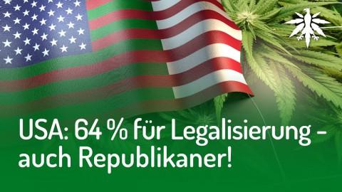 USA: 64 Prozent für Legalisierung – auch Republikaner! | DHV-Audio-News #142