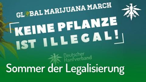 Sommer der Legalisierung: Smoke-In & Demo im Mai | DHV-Audio-News #204