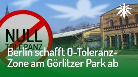 Berlin schafft 0-Toleranz-Zone am Görlitzer Park ab | DHV-Audio-News #144