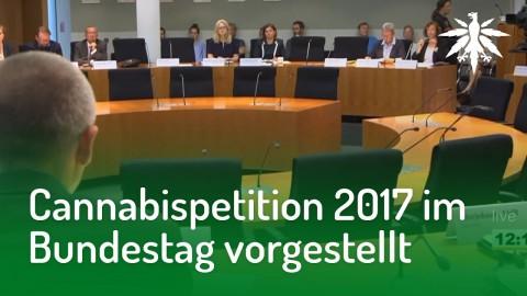 Cannabispetition 2017 im Bundestag vorgestellt | DHV-Audio-News #169
