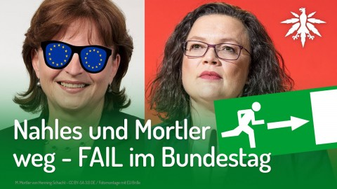 Nahles und Mortler weg – FAIL im Bundestag | DHV-Audio-News #208