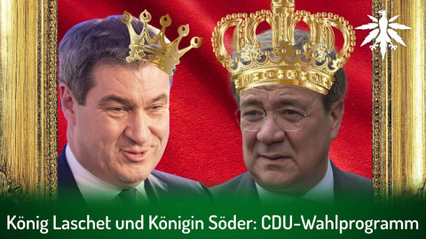 König Laschet und Königin Söder: CDU-Wahlprogramm | DHV-Adio-News #299